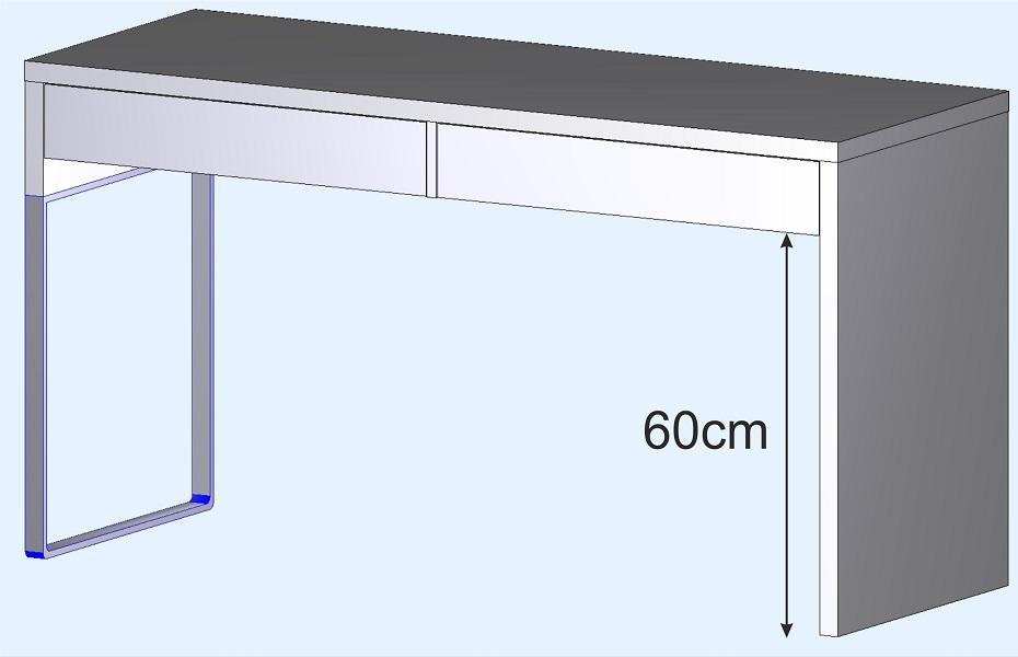 medida escritorio de diseño con cajones moderno juveil