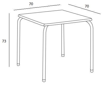 Medidas mesa