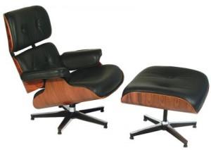 Sillón y ottoman Eames