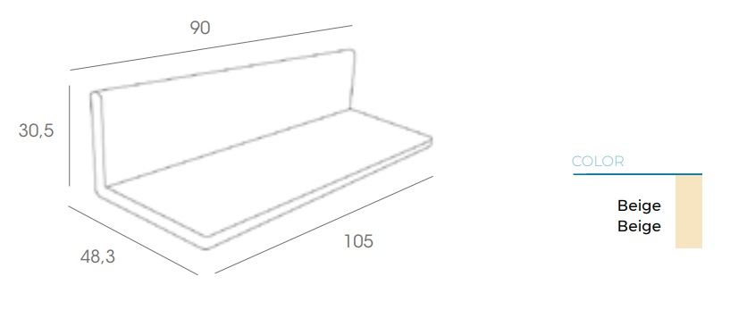 Detalle cojines opcionales sofá click clack de resol