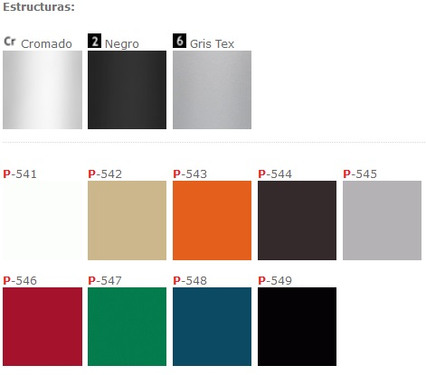 Fac105 structure colors