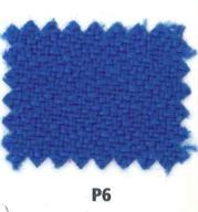 Detalle tapicería Bali Azul para sillas de oficina