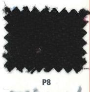 Detalle tapicería Bali Negro para sillas de oficina