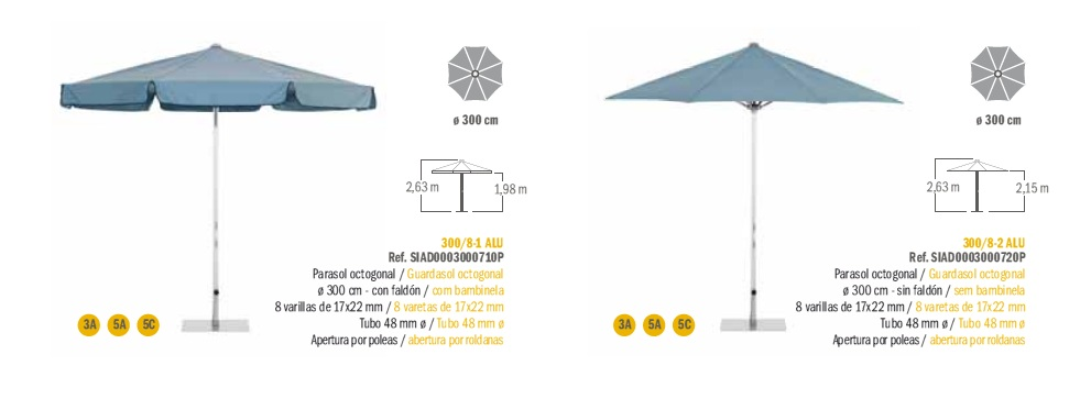 Modelos Parasol Serie Aluminio EZPELETA_c