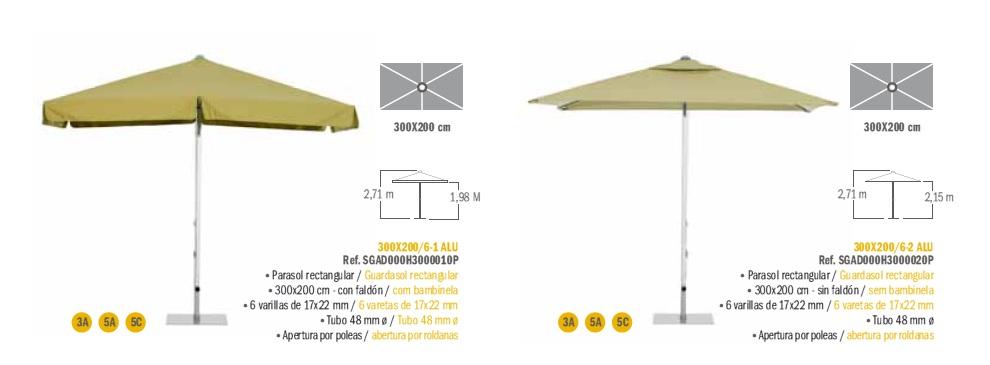 Modelos Parasol Serie Aluminio EZPELETA_d