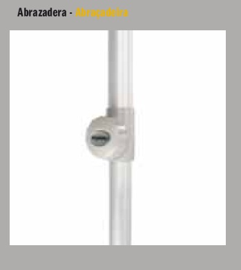 Acabados Parasol Serie Aluminio EZPELETA DRALON detalles2