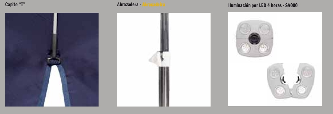 Acabados Parasol Serie Aluminio EZPELETA DRALON detalles4