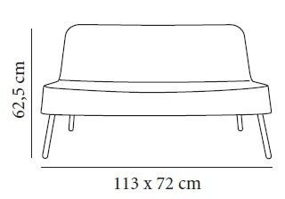 Sofá de exterior BOB de RESOL
