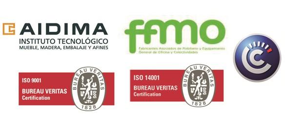 Silla certificada ADIMIA ISO 9001