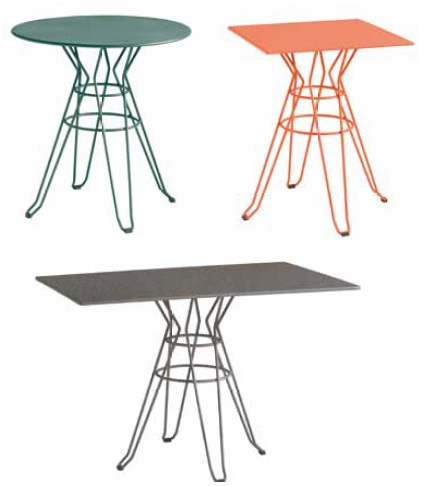 CAPRI Collection by ISIMAR - tables vintage style