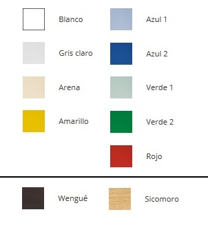 Colors for banks and locker rooms Buy online
