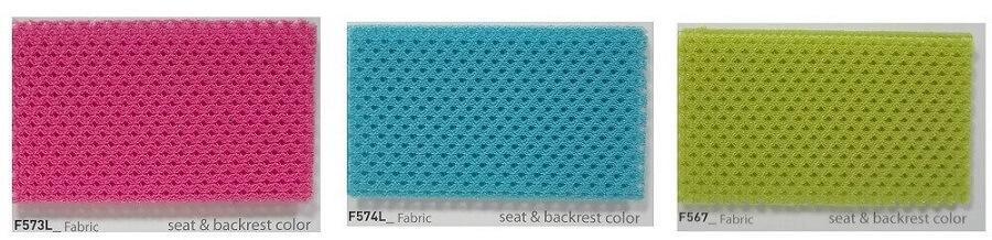 Colores tela silla ergonómica infantil RINGO estudio escritorio