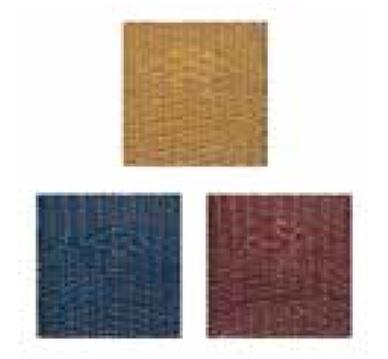 Colores medula sintética para sillas de aluminio y taburetes de terraza