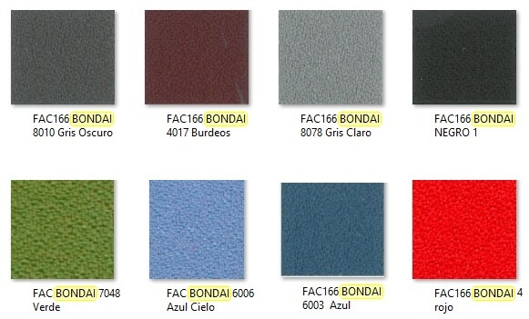 Fabric colors for ergonomic chair POP by LUYANDO