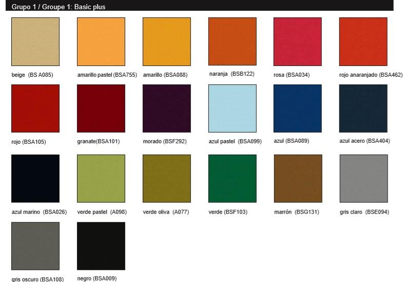 Colores tapicería silla de oficina giratoria ergonómica