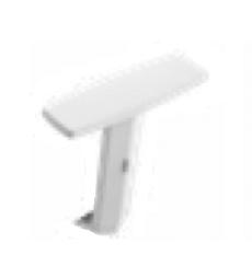 Brazos opcionales en color blanco para silla giratoria