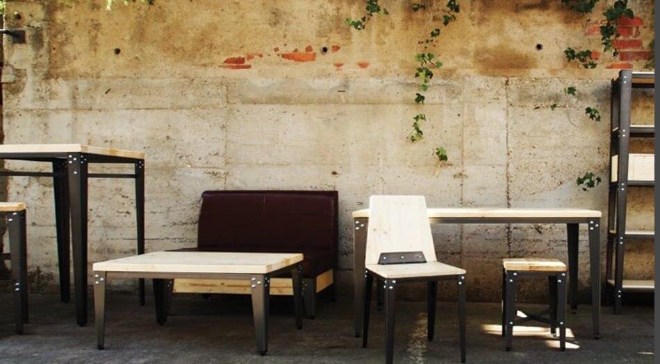 colección Lmobiliario vintage para hostelería