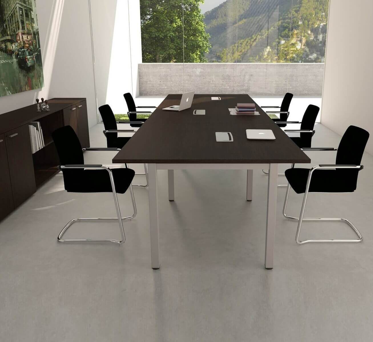 Meeting table for meeting rooms M4 collection. Buy online office furniture