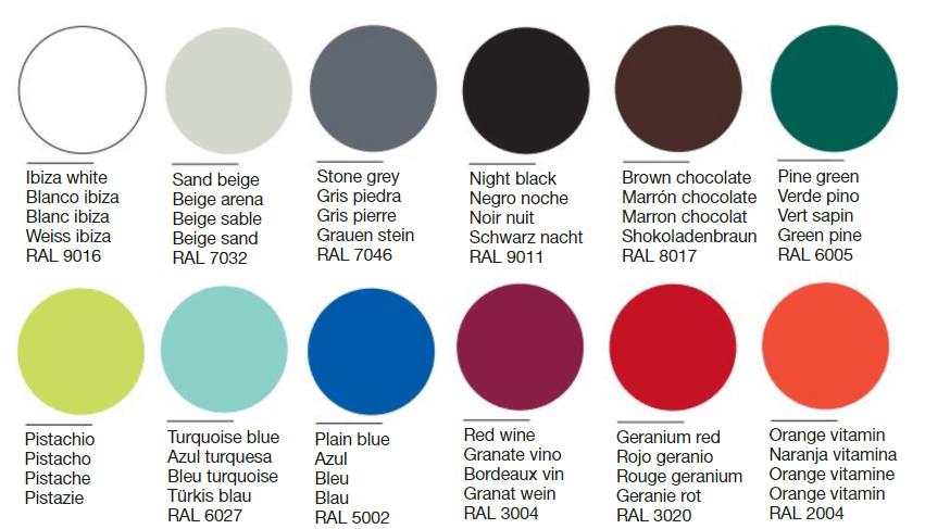 FAC1145 colores metal