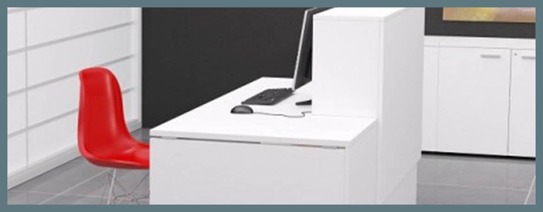 Acheter comptoir de bureau ou table de reception pas cher